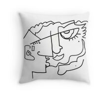 After Picasso B18 Throw Pillow