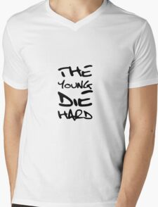 The Young Die Hard Mens V-Neck T-Shirt