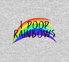 I POOP RAINBOWS Unisex T-Shirt