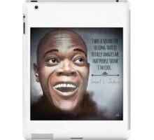 Samuel L. Jackson is Cool  iPad Case/Skin