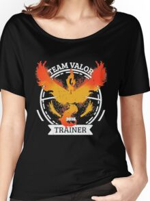 ♥ Team Valor ♥ Women's Relaxed Fit T-Shirt
