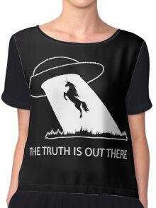 The truth is out there - Unicorn  Chiffon Top
