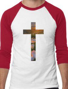 Christian Cross Men's Baseball ¾ T-Shirt