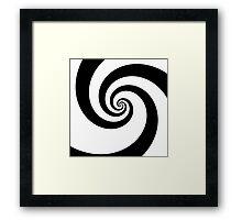 The Swirl  Framed Print