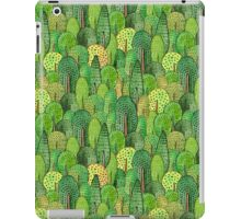 Watercolor forest iPad Case/Skin