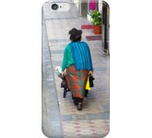 Indigenous Selling Their Produce iPhone Case/Skin