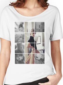 Red Photoshoot Women's Relaxed Fit T-Shirt