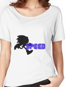 Speed Type: Sonic Women's Relaxed Fit T-Shirt
