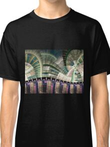 Industrial - Abstract Fractal Artwork Classic T-Shirt