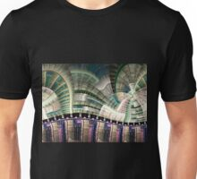 Industrial - Abstract Fractal Artwork Unisex T-Shirt