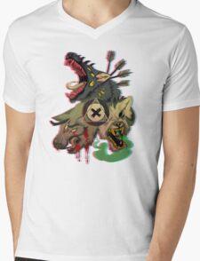 Cerberus Mens V-Neck T-Shirt