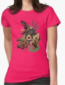 Cerberus Womens Fitted T-Shirt