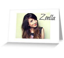 Zoella Greeting Card