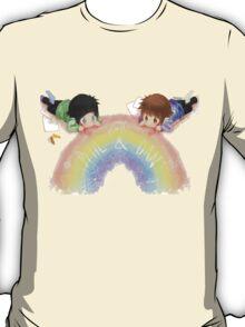 Drawing a rainbow T-Shirt