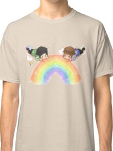 Drawing a rainbow Classic T-Shirt