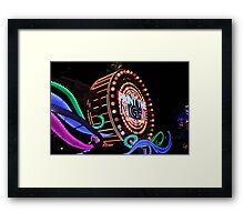 Paint the Night Framed Print