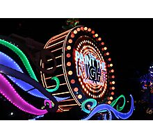 Paint the Night Photographic Print