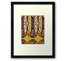 Fox Grave Framed Print