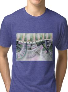 Clockwork - Abstract Fractal Artwork Tri-blend T-Shirt