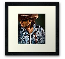 Just Another Cowboy Framed Print