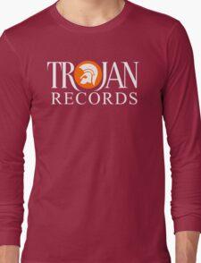 TROJAN RECORDS ORIGINAL LOGO Long Sleeve T-Shirt