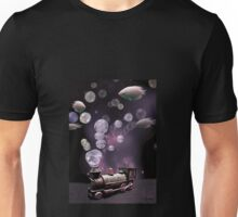 Tren burbujeante Unisex T-Shirt