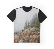 Bass Harbor Lighthouse Graphic T-Shirt