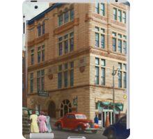 City - Chattanooga, TN - 1943 - The Masonic Temple iPad Case/Skin