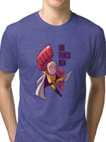 manga one punch man Tri-blend T-Shirt
