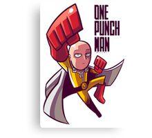 manga one punch man Canvas Print