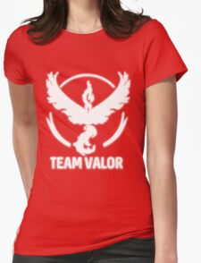 Team Valor - Pokémon Go Womens Fitted T-Shirt