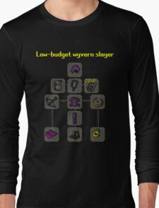 Low-budget wyvern slayer build Long Sleeve T-Shirt