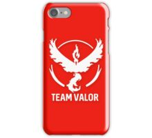 Team Valor - Pokémon Go iPhone Case/Skin