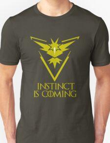 Pokemon Go Team Instinct Is Coming (GOT) Unisex T-Shirt