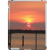 Sunset in Island Park, NY USA iPad Case/Skin