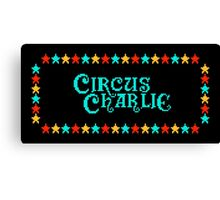 CIRCUS CHARLIE - CLASSIC 80s ARCADE GAME Canvas Print