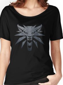 Forest and Wolf Medallion Women's Relaxed Fit T-Shirt