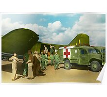 Doctor  - Transferring the wounded Poster