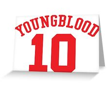 Youngblood Greeting Card
