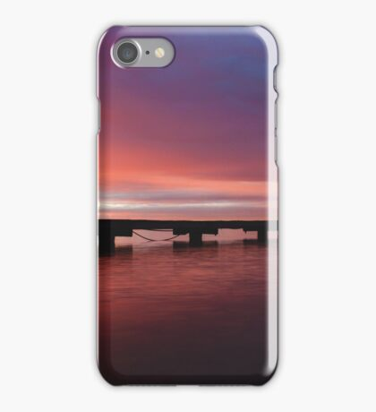 Crawley Boat House sunrise iPhone Case/Skin
