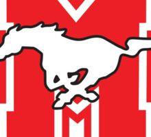 Hamilton Mustangs Sticker