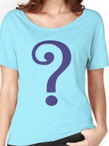 The Riddler  (Purple Question Mark) - Batman Women's Relaxed Fit T-Shirt