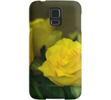 Yellow roses, symbol of friendship and joy Samsung Galaxy Case/Skin