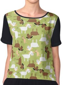 Sound of music goat herd Chiffon Top