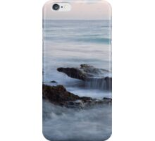 Cottesloe splashing waves sunset iPhone Case/Skin