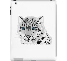 A beautiful white panther iPad Case/Skin