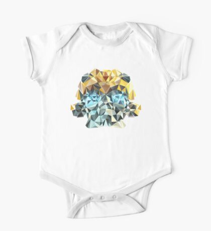 Bumblebee Portrait with Triangles One Piece - Short Sleeve