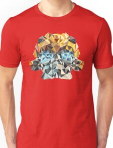 Bumblebee Portrait with Triangles Unisex T-Shirt