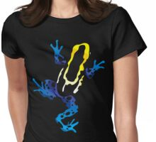 A Beautiful Death: THE BLUE BOLT Womens Fitted T-Shirt