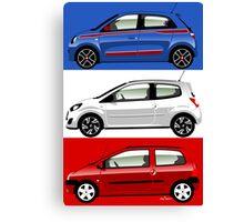 Renault Twingo evolution Canvas Print
